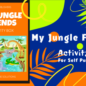 my jungle friends activity page bundle