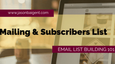 Mailing And Subscribers List