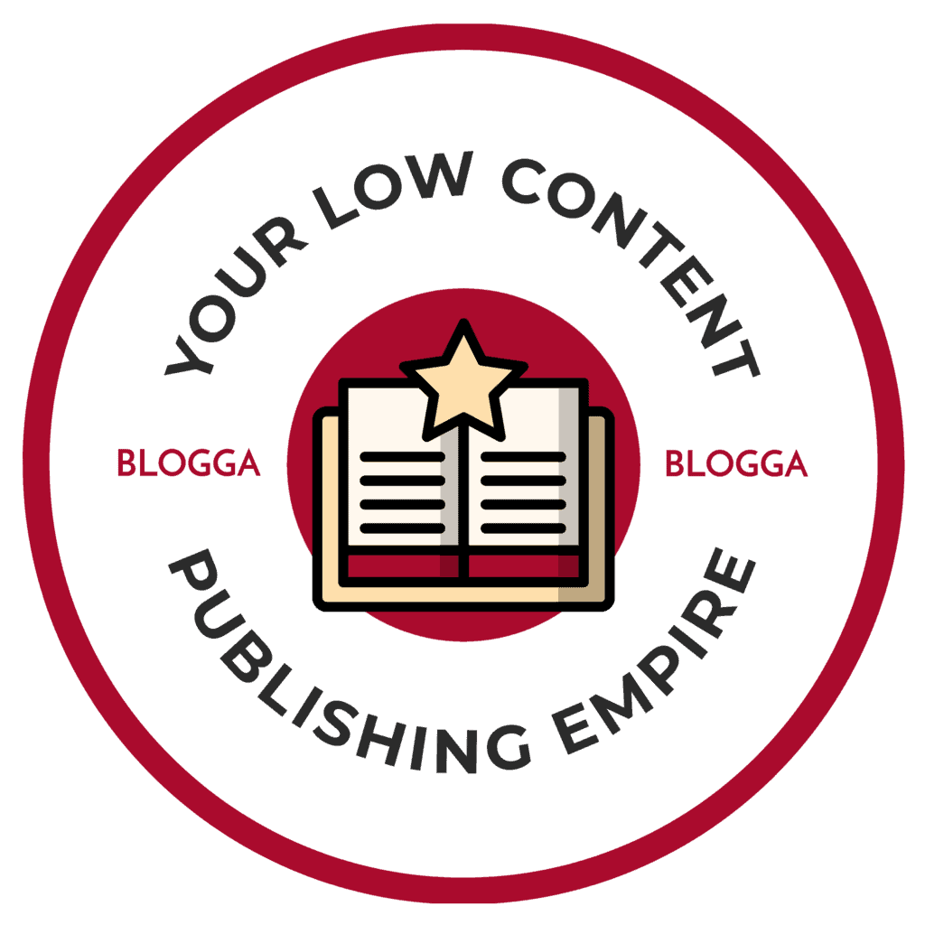 Low Content Publishing Empire