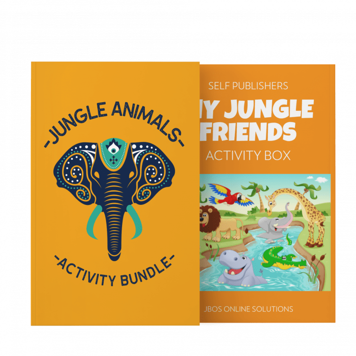 Jungle Animals Educational Activity Bundle